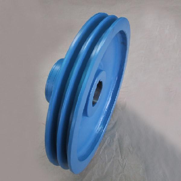 Grooved pulleys